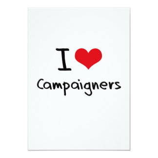 Liebe I Aktivisten 12,7 X 17,8 Cm Einladungskarte