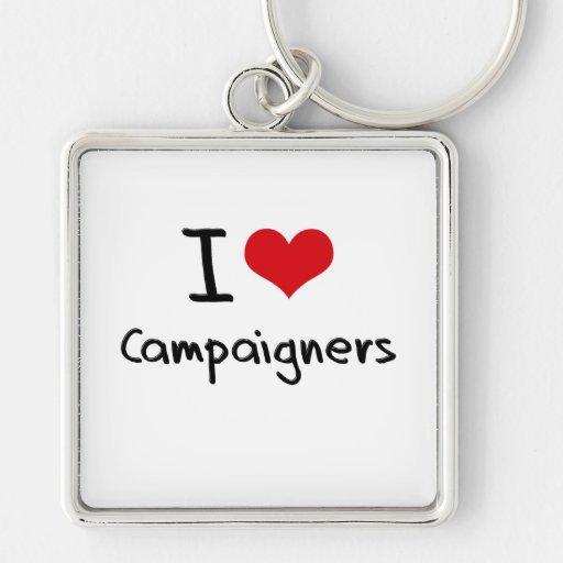 Liebe I Aktivisten Schlüsselbänder