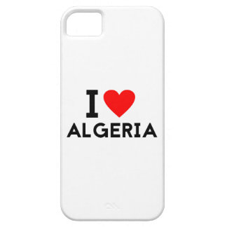 Liebe I Algerien-Landnationsherz-Symboltext iPhone 5 Hüllen