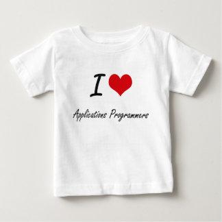 Liebe I Anwendungs-Programmierer Tshirt
