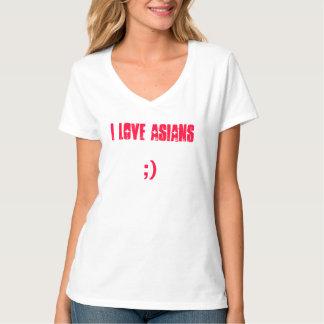 Liebe I Asiats-Shirt T-shirt