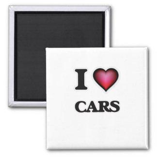 Liebe I Autos Quadratischer Magnet