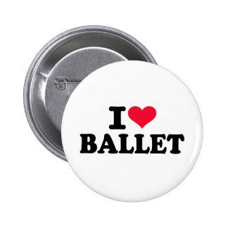Liebe I Ballett Anstecknadelbutton