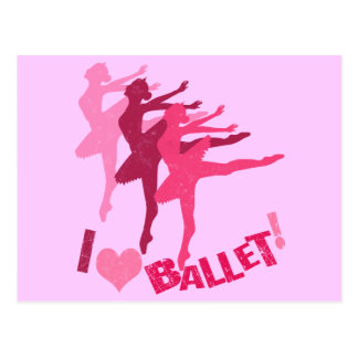 Liebe I Ballett Postkarten