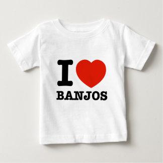 Liebe I Banjos Baby T-shirt