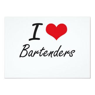 Liebe I Barkeeper 12,7 X 17,8 Cm Einladungskarte