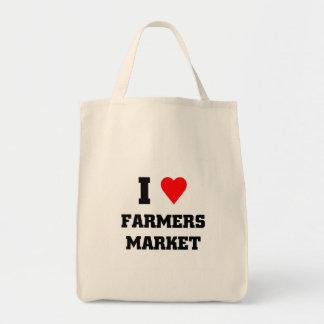Liebe I Bauers-Markt Einkaufstasche