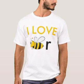 Liebe I Bier-Shirt T-Shirt