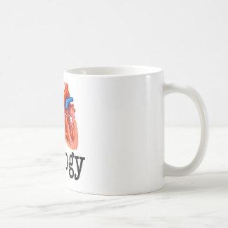 Liebe I Biologie Kaffeetasse