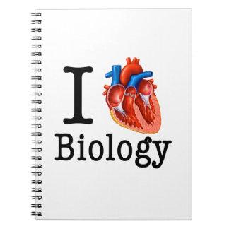 Liebe I Biologie Notizblock