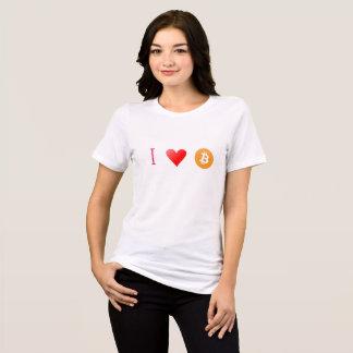 Liebe I bitcoin T-Shirt