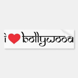 Liebe I Bollywood Stoßaufkleber Autoaufkleber