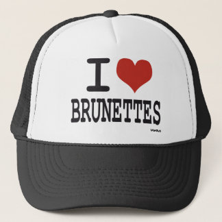 Liebe I Brunettes Truckerkappe