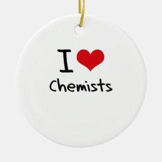 Liebe I Chemiker Ornament
