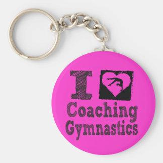 Liebe I Coahing Gymnastik-Schlüsselkette Schlüsselanhänger