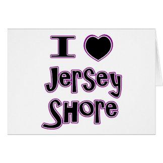 Liebe I das Jerseyufer Karte