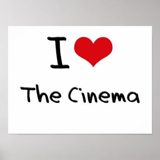 Liebe I das Kino Plakate