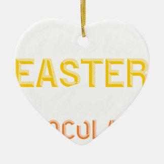 Liebe I das Ostern, erhalte ich Schokolade Keramik Ornament
