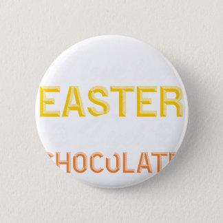 Liebe I das Ostern, erhalte ich Schokolade Runder Button 5,1 Cm