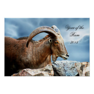 Liebe I das RAM-Jahr 2015 Poster