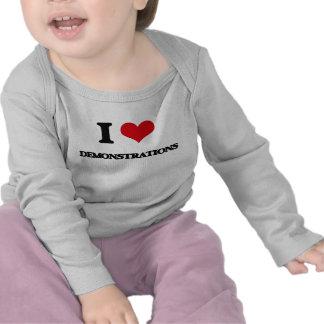 Liebe I Demonstrationen T Shirt