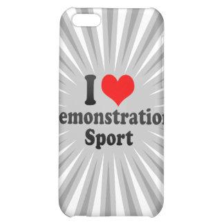Liebe I Demonstrations-Sport iPhone 5C Schale
