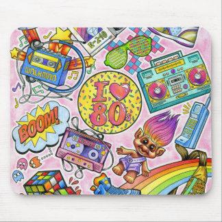 Liebe I der 80er - Achtzigerjahre Swag Mousepad