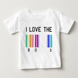 Liebe I der Entwurf 80´s Baby T-shirt