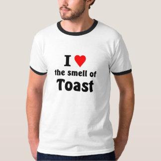 Liebe I der Geruch des Toasts T-Shirt