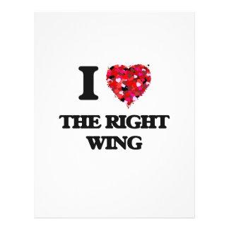 Liebe I der rechte Flügel 21,6 X 27,9 Cm Flyer