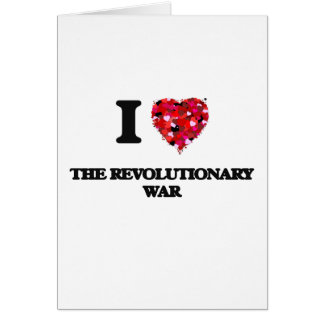 Liebe I der revolutionäre Krieg Karte