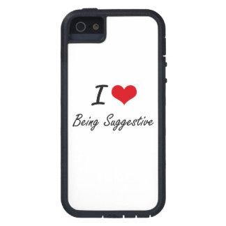 Liebe I, die andeutender künstlerischer Entwurf iPhone 5 Case