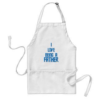 Liebe I, die ein Vater ist Schürze