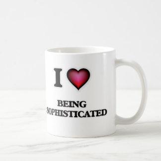 Liebe I, die hoch entwickelt ist Kaffeetasse