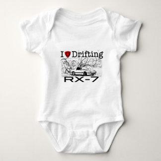 Liebe I, die RX-7 treibt Baby Strampler
