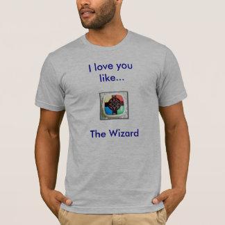 Liebe I, die Sie mögen… Der Zauberer T-Shirt