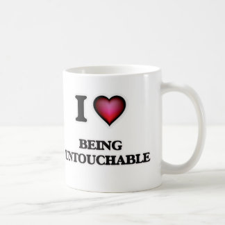 Liebe I, die Untouchable ist Kaffeetasse