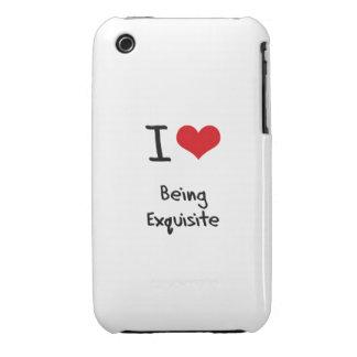 Liebe I, die vorzüglich ist iPhone 3 Cover