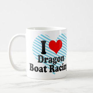 Liebe I Drache-Regatta Kaffeetasse