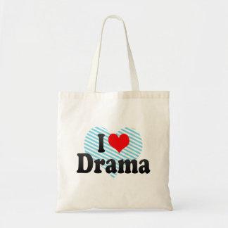 Liebe I Drama Tragetasche