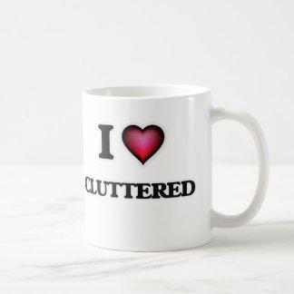 Liebe I durcheinandergeworfen Kaffeetasse