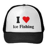 Liebe I Eis-Fischen Mütze