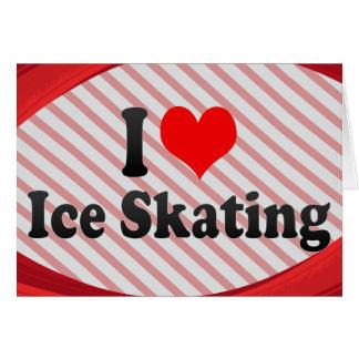 Liebe I Eis-Skaten Karte