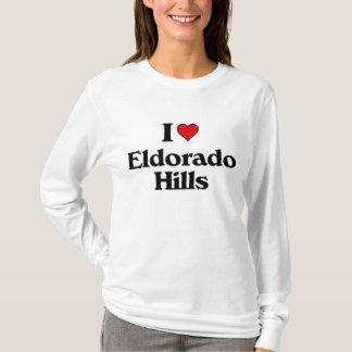Liebe I Eldoradohügel T-Shirt