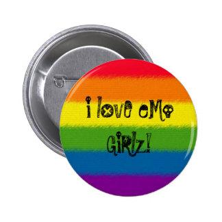 Liebe I eMo GiRlz! Runder Button 5,1 Cm