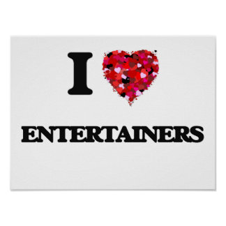 Liebe I ENTERTAINER Poster
