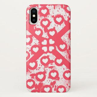 Liebe I es iPhone X Hülle