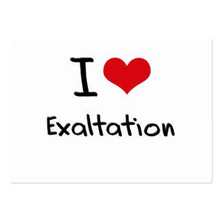 Liebe I Exaltation Visitenkartenvorlage