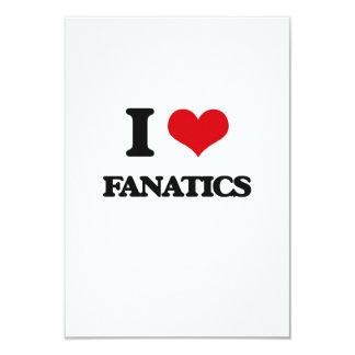 Liebe I Fanatiker 8,9 X 12,7 Cm Einladungskarte