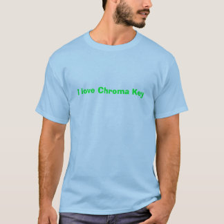 Liebe I Farbenreinheits-Schlüssel T-Shirt